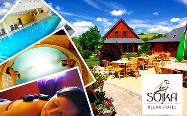 Gurmánský pobyt v hotelu Sojka*** v Nízkých Tatrách – 4denní relax pro dva s neomezeným vstupem do wellness centra a dobrotami z Belgie