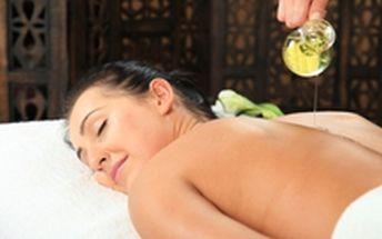 119 Kč místo 250 Kč - Zastavte se a vychutnejte si masáž! 30 minut olejové thajské masáže, se slevou 52 %. Možnost koupit i 60 min. nebo 90 min.!