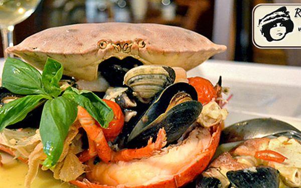 Speciální zážitkové menu s mořskými plody PRO DVA v krásné restauraci U Emy Destinnové. Luxusní gastronomie a suroviny té nejvyšší kvality.