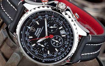 HODINKY značky Detomaso Teramo Stylové hodinky s koženým páskem vynikají elegancí a sportovním designem. Ruční práce, ušlechtilá ocel a strojek Quartz z nich dělají skutečný šperk. Součástí záruční karta.