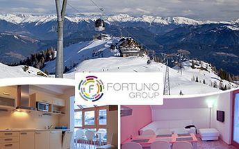 APARTMÁN na 1 noc pro 4 OSOBY v lyžařském středisku Nassfeld Ubytování ve čtyřlůžkových apartmánových domech Pontebbana a Kronalpe v rakouském lyžařském středisku Nassfeld. Užijte si pobyt ve vybaveném apartmánu s krásným okolím.