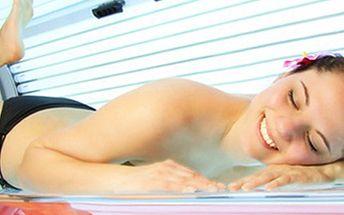 75 MINUT v SOLÁRIU Permanentka do horizontálního solária v celkovém čase 75 minut. Užijte si Vy nebo přátelé relax a opalte se - permanentka je přenosná.