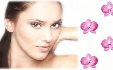 Speciální kolagenové ošetření vaší pleti za pomoci galvanické žehličky, speciální kosmetiky a k tomu závěrečné nalíčení ZDARMA!