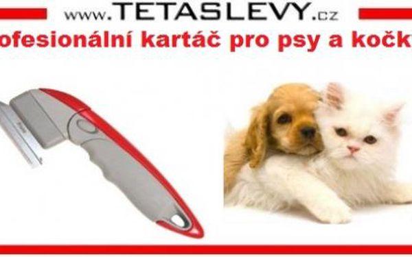 Profesionální kartáč pro psy a kočky Shed Ender Pro za 189kč poštovné je zdarma