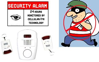 Výprodejová sleva 87%! Pouze 179 Kč za alarm s detektorem pohybu! Zabezpečte svůj dům s nízkými náklady!