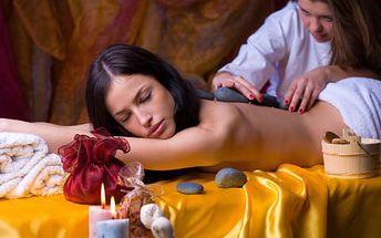 Objevte účinky masáže lávovými kameny! Hodinový relax, který zbaví vaše tělo tuku, škodlivin a stresu, se slevou 54%!