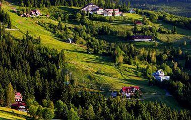 Pobyt pro 2 ve Špindlerově Mlýně. Ubytování na dvě noci v hotelu Alpina s plnou penzí, saunou, kulečníkem a fotbálkem