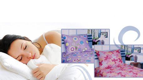 LOŽNÍ POVLEČENÍ Novia ze 100% bavlny jen za 129 Kč! Vyberte si z pěti barevných variant a vneste do své ložnice nové barvy! Sleva 57%!