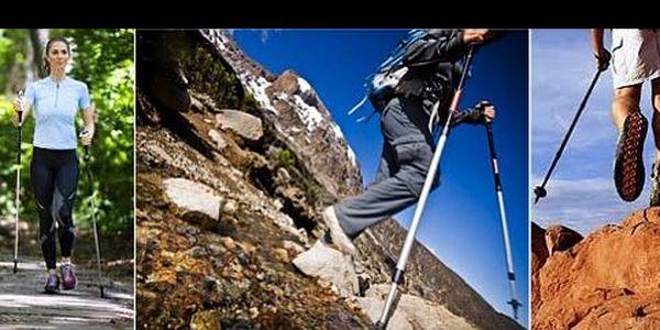 299 Kč za trekingové hole s odpružením, které zajišťují správné držení těla a šetří vaše klouby a až 30% energie oproti chůzi bez nich. Zdravý pohyb, nyní s 47% slevou.