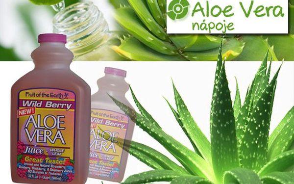 2 litry přírodní ALOE VERA šťávy WILD BERRY 95,75 % za neuvěřitelných 496 Kč! Šťáva s přírodním extraktem z lesních plodů je jedinečným zdrojem přírodních antioxidantů!