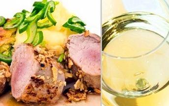 Zajděte si ve dvou na skutečnou delikatesu!! Pouhých 329 kč za medailonky z vepřové panenky saltibocca s parmskou šunkou a šalvějí, ryzlinkový přeliv a bramborové rӧsty a k tomu lahev lahodného bílého vína sauvignon! To vše v restauraci gurmán flint!