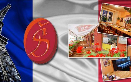 Luxusní 7-chodové francouzské menu společně s degustací vín dovezených přímo z Francie! Náš degustátor francouzské menu prověřil!
