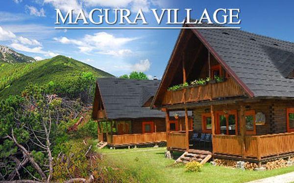 4 Nebo 5 denní pobyt s welness pro 6 osob ve vesničce komfortních dřevěných srubových chatek MAGURA VILLAGE pouze za 4 975 Kč. Zažijte neopakovatelnou dovolenou!