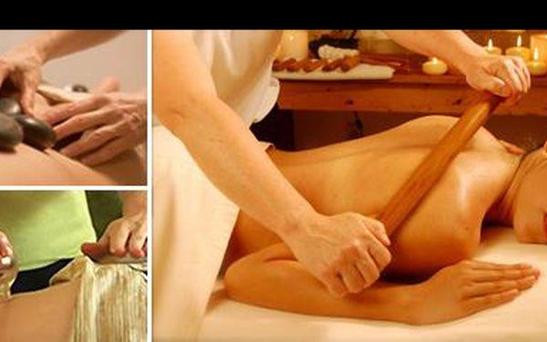 Dopřejte si masáž přesně na míru! Jen za 295 Kč si můžete vybrat hned ze 3 druhů báječných masáží, které harmonizují organismus, a dodávají mu novou sílu a vitalitu!