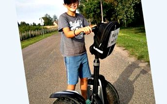 Jízda na Segway! Užijte si adrenalinovou jízdu na moderním vozítku Segway!