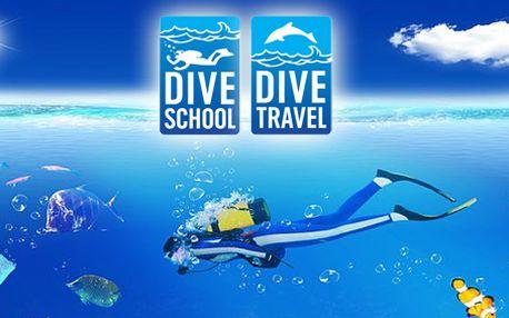 Kurz potápění: Open Water Diver až do 18 m, který Vás naučí základům potápění a po jehož absolvování získáte mezinárodně uznávanou kvalifikaci IANTD! Pouze 10 kupónů k dispozici!