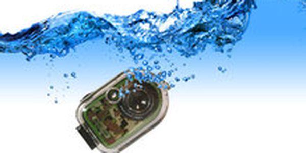 748 Kč místo 1 499 Kč - Výbava na dovolenou! Foťte nad vodou i pod ní se sportovním digitálním fotoaparátem – 5 megapixel, se slevou 50 %. Poštovné v ceně!