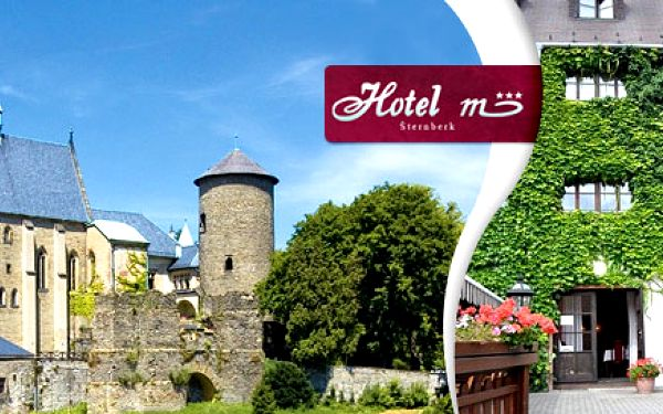2 až 6 nocí pro DVA v hotelu M *** ve Šternberku. Polopenze, děti do 5 let zdarma, 3chodová večeře a krásy města na úpatí Nízkého Jeseníku.