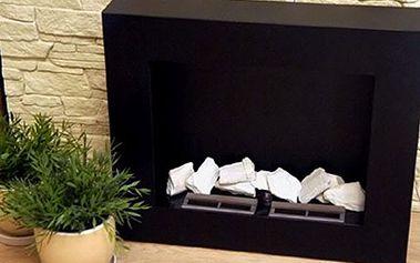 BIO KRB ve tvaru kostky včetně poštovného Designový doplněk pro Váš interiér s možností aromaterapie. Nevytváří nečistoty ani pach a využívá ekologicky šetrné palivo. Vhodný nejen do bytu, s poštovným.