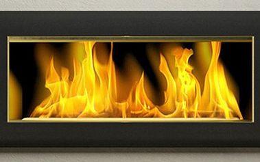 BIO KRB Big black. Ideální doplněk nejen do domu. Šestikomorový vysoce kvalitní a designový krb vhodný všude tam, kde nemůžete umístit klasický. Při hoření nevzniká žádný kouř ani saze, využívá bio-líh.