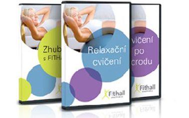 Fantastických 250 Kč za balení 3 DVD - Zhubni s FITHALL.cz, Relaxační cvičení s FITHALL.cz a Cvičení po porodu včetně poštovného! Chcete do léta zhubnout přebytečné kilogramy? Nestíháte chodit cvičit? Máte sedavé zaměstnání? Máme pro Vás účinné řešení. Investice do Vašeho zdraví, která se opravdu vyplatí - edice 3 DVD portálu FITHALL.cz, kde najdete řadu nových cviků a pohybů, při kterých spálíte mnoho kalorií a budete se cítit fit! DVD, kteréVám pomůže nastartovat zdravý životní styl v pohodlí