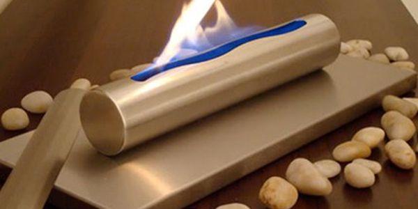 Stolní BIO KRB s dodáním zdarma + 1l gelethanolu Nerezový stolní krb vhodný do obývacího pokoje, kanceláře, prodejny či restaurace. Při hoření nevzniká žádný kouř ani saze, využívá ekologicky šetrné palivo. V ceně poštovné.