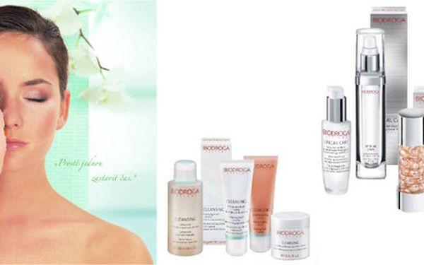 Jarní očista pleti! Hluboké čištění pleti kvalitní kosmetikou Biodroga, včetně odlíčení, Mikrodermabraze peelingu! , úpravy obočí, čistící, hydratační nebo liftingové masky, masky na rty a oči a krému. Nechte se hýčkat kosmetikou Biodroga, která čerpá z přírody a přináší pokožce jen to nejlepší! Biodroga, kosmetika, která získala Nobelovu cenu za účinnou látku.