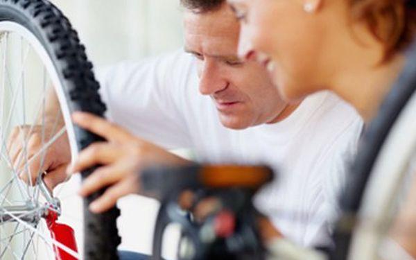 Předsezónní SERVIS KOLA Servis před tím, než pořádně šlápnete do pedálů: seřízení brzd, přehazovačky, přesmykače, namazání řetězu, bowdenů a lanek, dohuštění pneu či kontrola kol.
