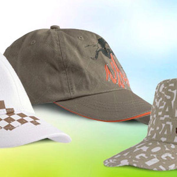 Letní baseballová čepice Vandenberg včetně dopravného. Pohodlná i stylová ochrana před sluníčkem. 12 druhů na výběr!