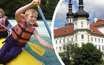 169 Kč za plavbu historickou Olomoucí. Výběr z 8 termínů a 2 zajímavých tras. Jedinečný zážitek na palubě raftu se slevou 41 %.
