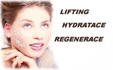 Lifting, hydratace, regenerace a diagnostika vaší pleti! To je liftingová kúra za 199.- s nalíčením zdarma !