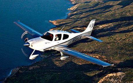Pilotování letadla na zkoušku! Řízení skutečného letadla může vyzkoušet každý. Není třeba předchozích zkušeností!