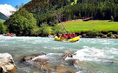 Víkend na raftu! Užijte si raftování na nejdelším vodáckém kanálu na světě, paintball a bungee-running!