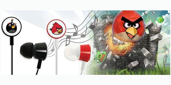 Originální stylová sluchátka Angry birds za 79 Kč! Vychutnejte si zvuk s těmito stereo sluchátky pro Váš telefon nebo MP3 přehrávač. Výborná reprodukce zvuku.