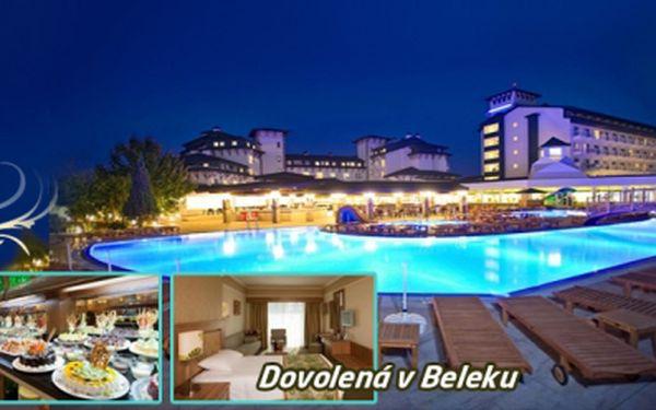 7 nocí ALL INCLUSIVE ve slunném TURECKU v krásném hotelu Innova Resort & SPA***** v Beleku JEN ZA 9990 Kč včetně zpáteční LETENKY a transferu z/do hotelu!