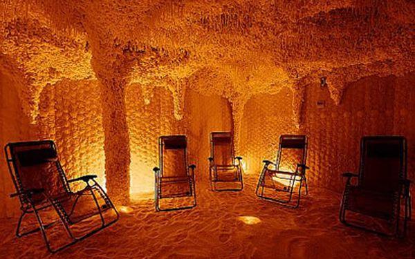 Solná jeskyně od 39 Kč! Jeden vstup nebo přenosná permanentka!