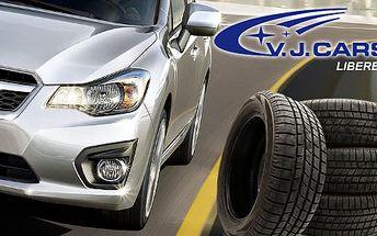 Přezutí na letní pneumatiky za pouhých 359 Kč s HyperSlevou 58 % a pro vaši bezpečnou jízdu bonus v podobě jarní kontroly vozu!