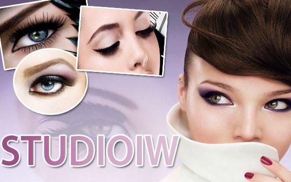 Permanentní make-up na horní nebo dolní linky očí a při koupi 2 voucherů možnost vyměnit za obočí