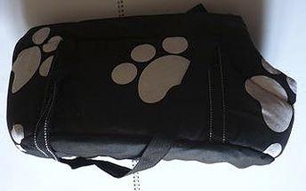 LÁTKOVÁ TAŠKA NA PSY ( 43 x 20 x 24 cm) za fantastických 229 Kč! Velmi módní taška pro malá plemena vyrobena z kvalitního materiálu. I Váš psí miláček chce cestovat v pohodlí. Sleva 55 %!