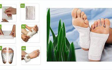 10 kusů DETOXIKAČNÍ NÁPLASTI za 69 Kč!!! Účinné výtažky z rostlin, které podporují detoxikaci organismu! Jednoduchá aplikace na chodila během vašeho spánku!