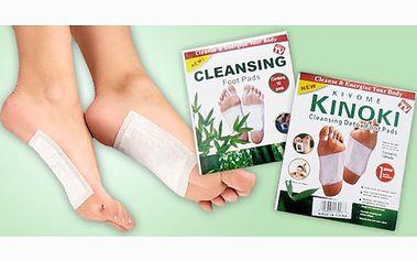 10 kusů DETOXIKAČNÍCH NÁPLASTÍ za 49 Kč!!! Účinné výtažky z rostlin, které podporují detoxikaci organismu! Jednoduchá aplikace na chodila během vašeho spánku!