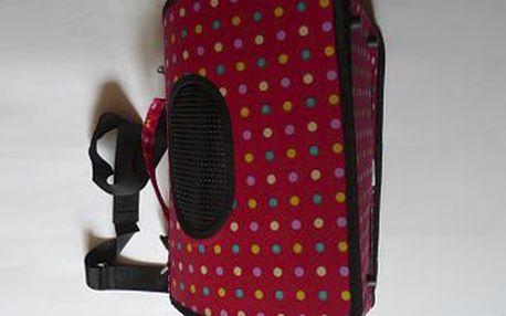 KABELKA VE TVARU TUNELU na psy (42 x 24 x 28 cm) za fantastických 349 Kč! Velmi módní kabelka pro malá plemena vyrobena z kvalitního materiálu. I Váš psí miláček chce cestovat v pohodlí. Sleva 54 %!
