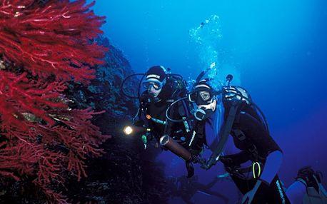 """2 500 Kč za 7 dní aktivní dovolené na ostrově Brač včetně kurzu potápění. Skvělá rodinná dovolená. Manželka mluví a opaluje se, manžel neslyší, potápí se :). Dovolená, slunce, průzračné moře, Chorvatsko, stačí jen kliknout """"Koupit""""!"""