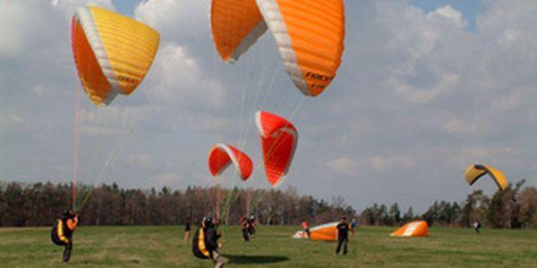 Seznamovací kurz paraglidingu se slevou 15%