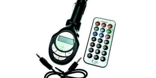 FM Transmitter za geniální cenu. Pouhých 139 Kč a můžete poslouchat MP3 i v autě, kde to původně nešlo!