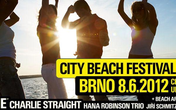 210 Kč za vstup na City Beach Festival. No Name, Charlie Straight, Hana Robinson, Jiří Schmitzer a afterparty. Skvělá muzika se slevou 50 %!