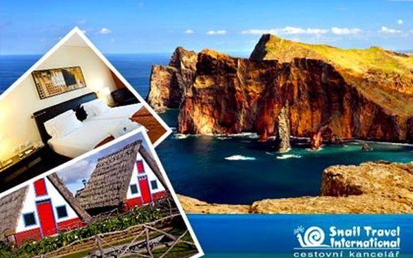 Letecky na ostrov Madeira do 4*hotelu Vila Galé Santa Cruz – polopenze formou švédských stolů, výběr z 6 termínů