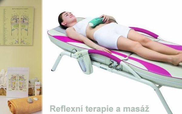 Chtěli jste si někdy dopřát akupresuru? A že k ní ještě navíc by se hodila i masáž unavených a ztuhlých zad? Reflexní terapie chodidel - 30 min. a k tomu masáž na lůžku Ceragem - 40 min.