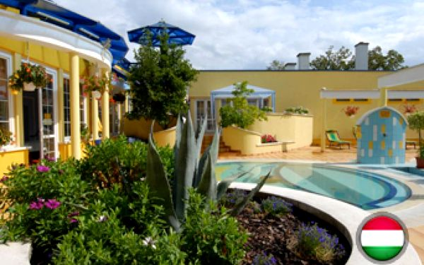 4 dny v 3* hotelu Rudolf v Hajdúszoboszló s polopenzí, jacuzzi, finská sauna, perličková koupel a termální bazény za 4586 Kč.