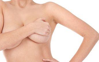214,- Kč za zpevňující masáž poprsí a dekoltu - za použití zpevňující masky! Sleva 64%!